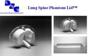 椭圆式肺部脊柱模体盖