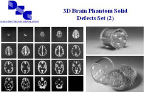3D脑模体实心缺陷模拟物套装