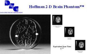 Hoffman 2D脑模体