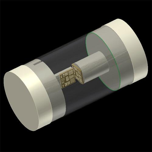 显微CT条形测试图样芯片